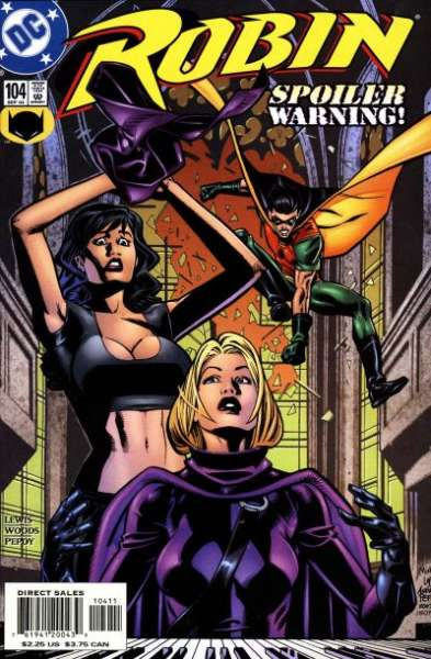 Robin #104 Comic Books - Covers, Scans, Photos  in Robin Comic Books - Covers, Scans, Gallery