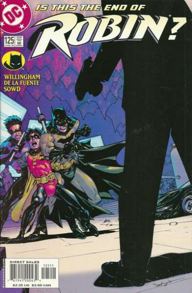 Robin #125 comic books - cover scans photos Robin #125 comic books - covers, picture gallery