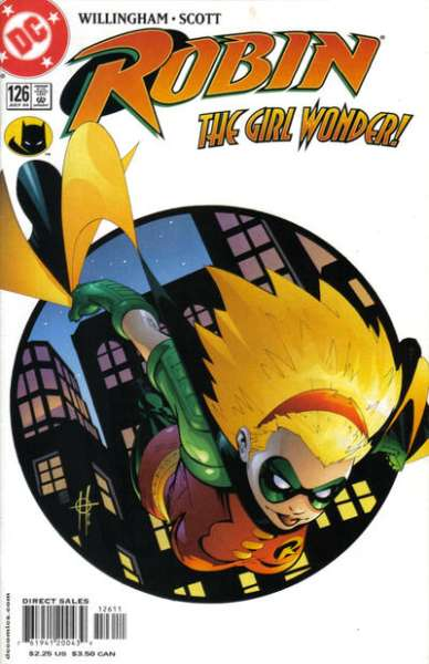 Robin #126 comic books for sale