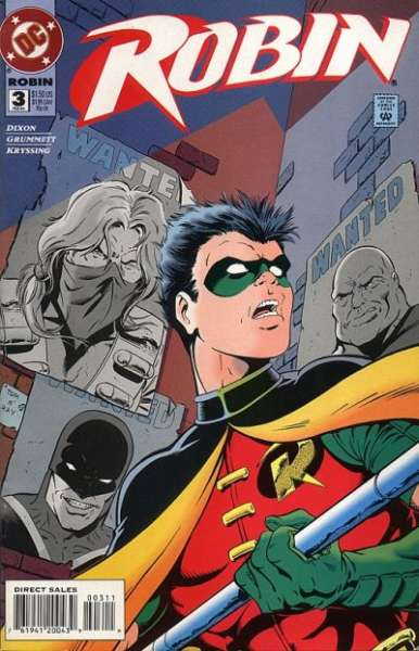 Robin #3 Comic Books - Covers, Scans, Photos  in Robin Comic Books - Covers, Scans, Gallery