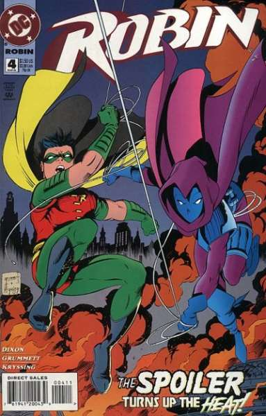 Robin #4 Comic Books - Covers, Scans, Photos  in Robin Comic Books - Covers, Scans, Gallery