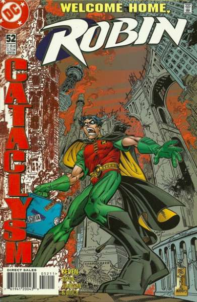Robin #52 comic books - cover scans photos Robin #52 comic books - covers, picture gallery