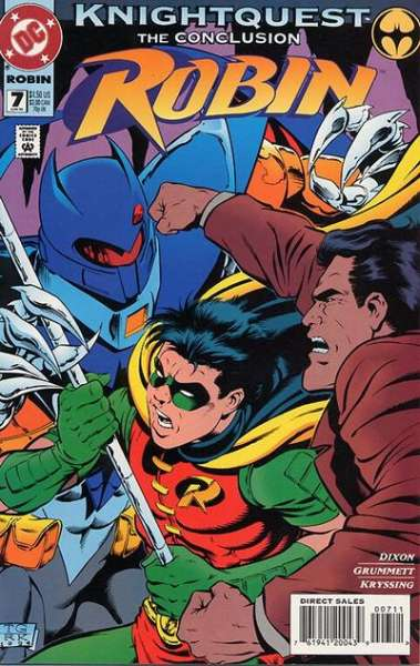 Robin #7 Comic Books - Covers, Scans, Photos  in Robin Comic Books - Covers, Scans, Gallery