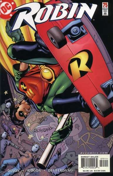 Robin #75 comic books - cover scans photos Robin #75 comic books - covers, picture gallery