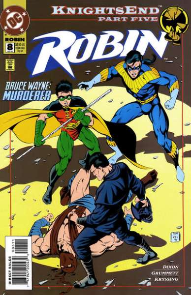 Robin #8 comic books - cover scans photos Robin #8 comic books - covers, picture gallery