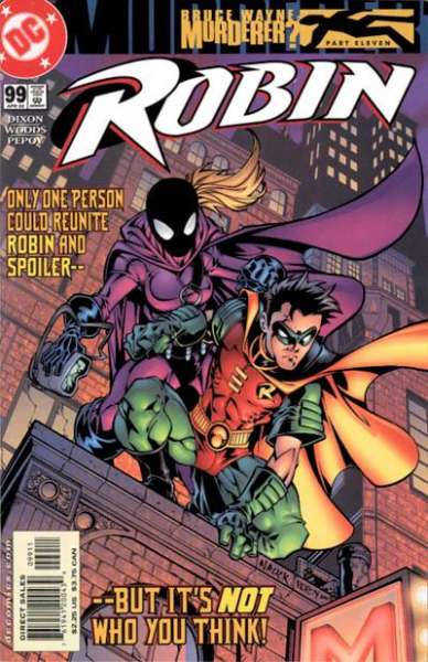 Robin #99 comic books - cover scans photos Robin #99 comic books - covers, picture gallery