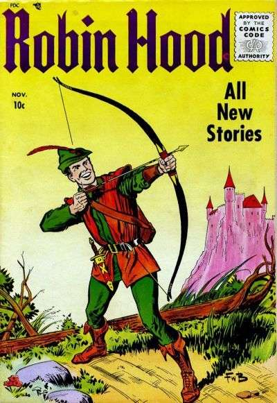 Robin Hood #52 cheap bargain discounted comic books Robin Hood #52 comic books