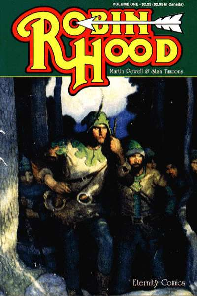 Robin Hood comic books