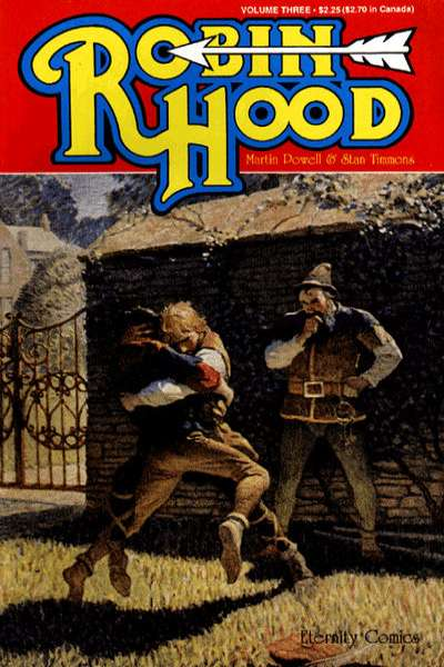 Robin Hood #3 comic books - cover scans photos Robin Hood #3 comic books - covers, picture gallery