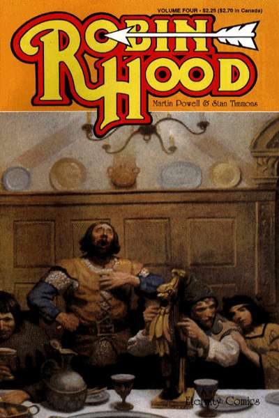 Robin Hood #4 Comic Books - Covers, Scans, Photos  in Robin Hood Comic Books - Covers, Scans, Gallery