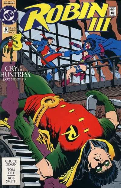 Robin III: Cry of the Huntress #6 Comic Books - Covers, Scans, Photos  in Robin III: Cry of the Huntress Comic Books - Covers, Scans, Gallery