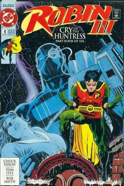 Robin III: Cry of the Huntress #4 Comic Books - Covers, Scans, Photos  in Robin III: Cry of the Huntress Comic Books - Covers, Scans, Gallery