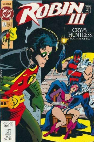 Robin III: Cry of the Huntress #5 Comic Books - Covers, Scans, Photos  in Robin III: Cry of the Huntress Comic Books - Covers, Scans, Gallery