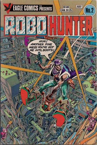 Robo-Hunter #2 comic books for sale