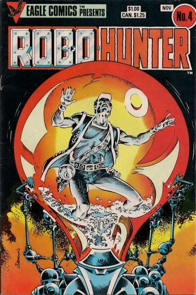 Robo-Hunter #4 comic books for sale