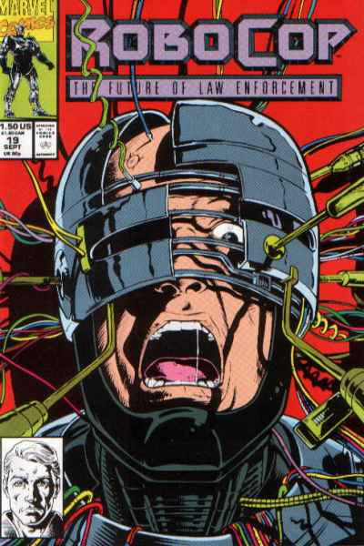 Robocop #19 comic books - cover scans photos Robocop #19 comic books - covers, picture gallery