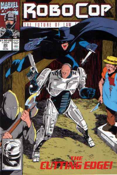 Robocop #20 comic books - cover scans photos Robocop #20 comic books - covers, picture gallery