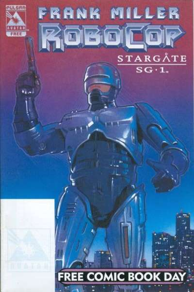 Robocop/Stargate SG-1 #1 comic books for sale