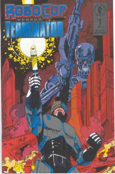 Robocop versus The Terminator # comic book complete sets Robocop versus The Terminator # comic books