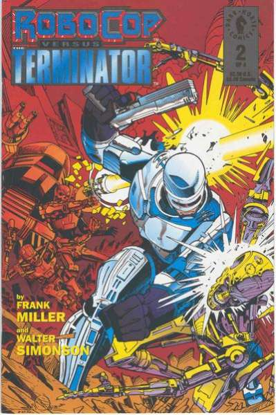 Robocop versus The Terminator #2 comic books for sale