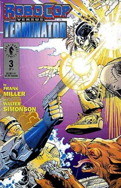 Robocop versus The Terminator #3 comic books for sale