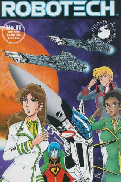 Robotech #11 comic books for sale