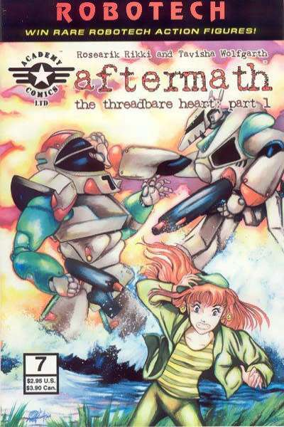 Robotech: Aftermath #7 comic books - cover scans photos Robotech: Aftermath #7 comic books - covers, picture gallery