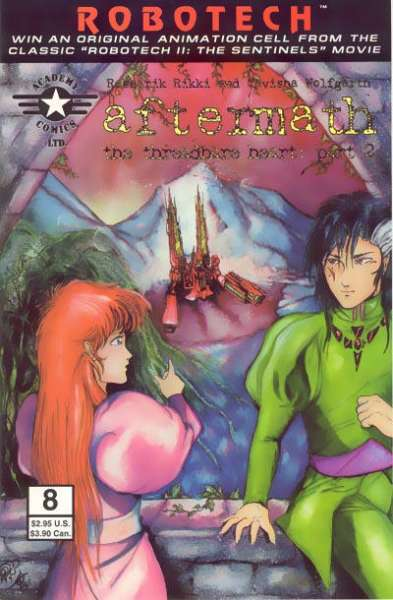 Robotech: Aftermath #8 comic books for sale