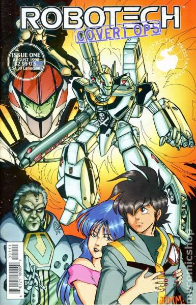 Robotech: Covert Ops #1 Comic Books - Covers, Scans, Photos  in Robotech: Covert Ops Comic Books - Covers, Scans, Gallery