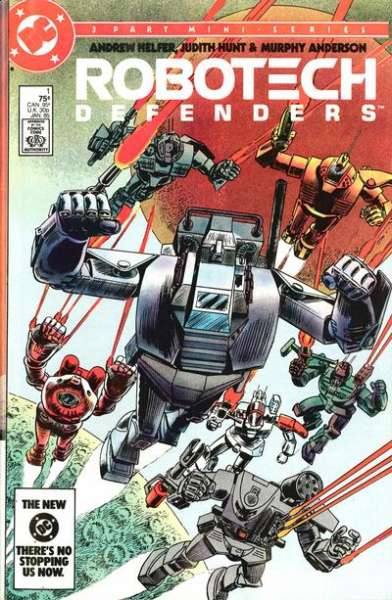Robotech Defenders #1 Comic Books - Covers, Scans, Photos  in Robotech Defenders Comic Books - Covers, Scans, Gallery