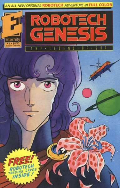 Robotech Genesis: The Legend of Zor comic books