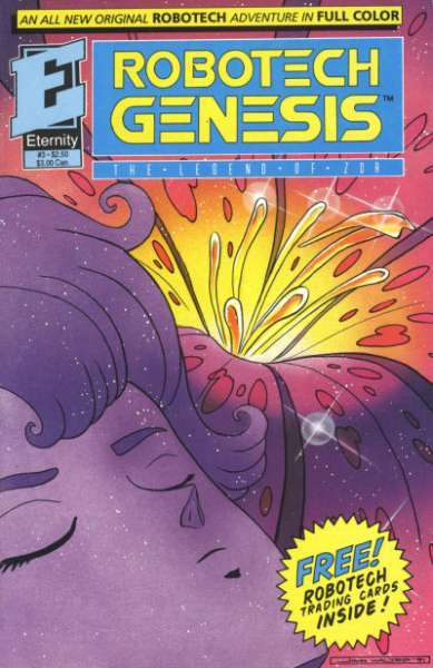 Robotech Genesis: The Legend of Zor #3 comic books - cover scans photos Robotech Genesis: The Legend of Zor #3 comic books - covers, picture gallery