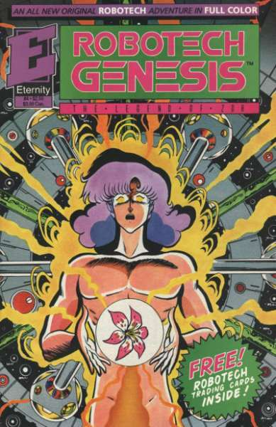 Robotech Genesis: The Legend of Zor #4 comic books for sale