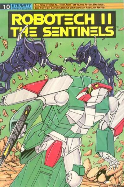 Robotech II: The Sentinels Book 1 #10 comic books for sale