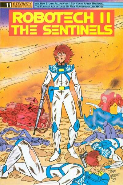 Robotech II: The Sentinels Book 1 #11 comic books for sale