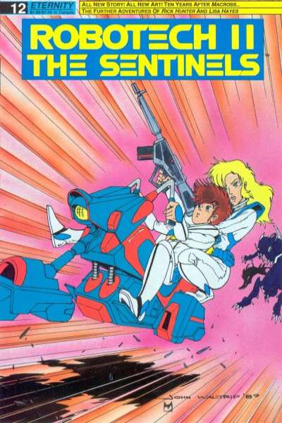 Robotech II: The Sentinels Book 1 #12 comic books for sale