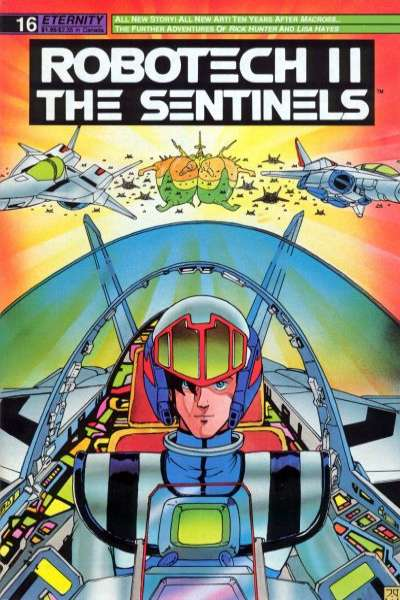 Robotech II: The Sentinels Book 1 #16 comic books for sale