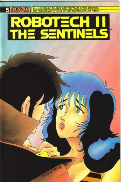 Robotech II: The Sentinels Book 1 #5 comic books for sale