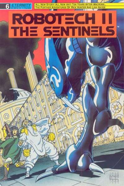 Robotech II: The Sentinels Book 1 #6 comic books for sale