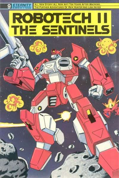 Robotech II: The Sentinels Book 1 #9 comic books for sale