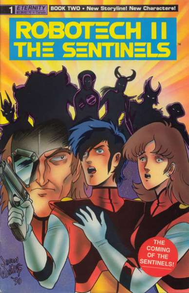 Robotech II: The Sentinels Book 2 comic books
