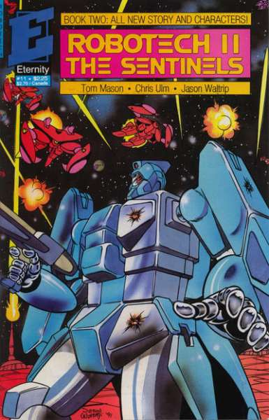 Robotech II: The Sentinels Book 2 #11 comic books - cover scans photos Robotech II: The Sentinels Book 2 #11 comic books - covers, picture gallery