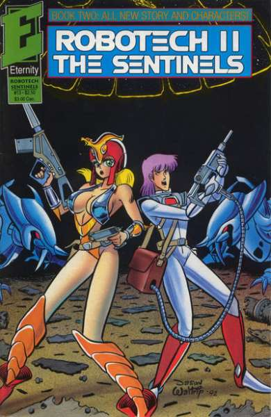 Robotech II: The Sentinels Book 2 #13 Comic Books - Covers, Scans, Photos  in Robotech II: The Sentinels Book 2 Comic Books - Covers, Scans, Gallery