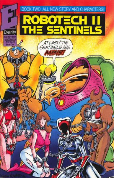 Robotech II: The Sentinels Book 2 #15 comic books - cover scans photos Robotech II: The Sentinels Book 2 #15 comic books - covers, picture gallery