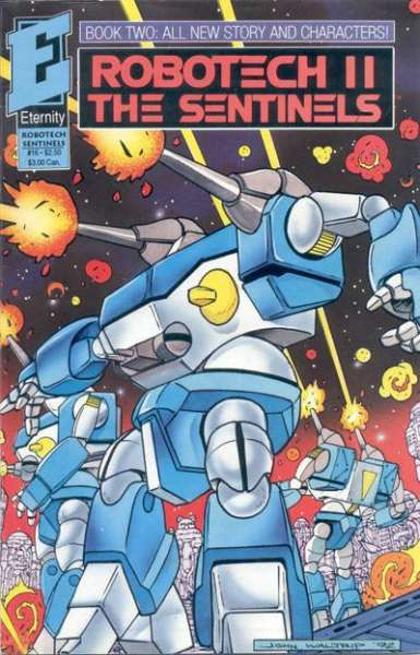 Robotech II: The Sentinels Book 2 #16 comic books - cover scans photos Robotech II: The Sentinels Book 2 #16 comic books - covers, picture gallery