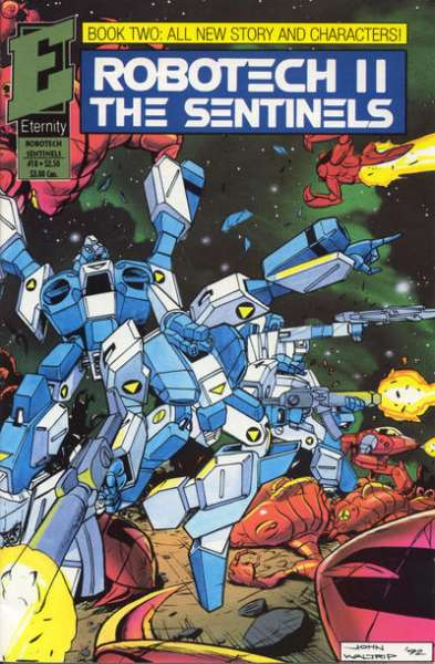 Robotech II: The Sentinels Book 2 #18 Comic Books - Covers, Scans, Photos  in Robotech II: The Sentinels Book 2 Comic Books - Covers, Scans, Gallery