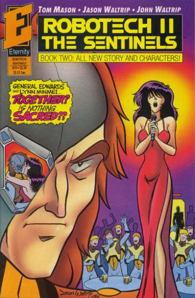 Robotech II: The Sentinels Book 2 #19 comic books - cover scans photos Robotech II: The Sentinels Book 2 #19 comic books - covers, picture gallery