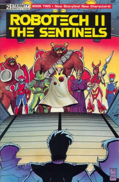 Robotech II: The Sentinels Book 2 #2 Comic Books - Covers, Scans, Photos  in Robotech II: The Sentinels Book 2 Comic Books - Covers, Scans, Gallery