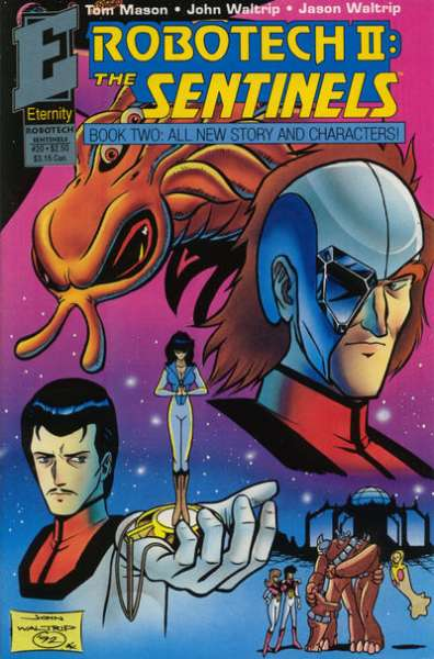 Robotech II: The Sentinels Book 2 #20 Comic Books - Covers, Scans, Photos  in Robotech II: The Sentinels Book 2 Comic Books - Covers, Scans, Gallery