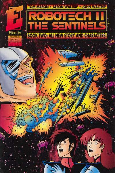 Robotech II: The Sentinels Book 2 #21 Comic Books - Covers, Scans, Photos  in Robotech II: The Sentinels Book 2 Comic Books - Covers, Scans, Gallery